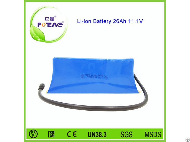 Factory Direct Sale 18650 26ah Rechargeable Battery Pack 12v