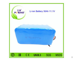 Rechargeable 26670 12v 30ah Li Ion Battery Pack For Electric Bike