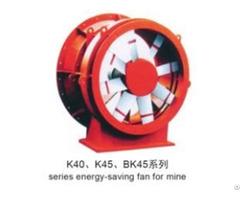 Mining Ventilation System Axial Fan
