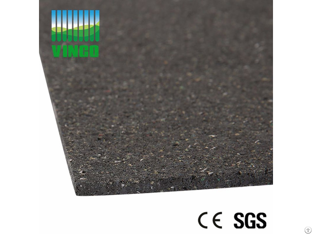Gym Non Slip Shockproof Rubber Sheet Rubbers Floor Rubbering Roll Flooring