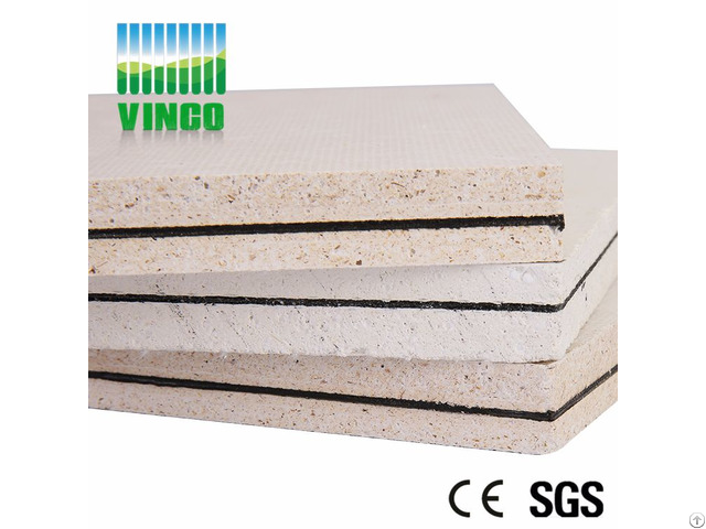 Noise Barrier Wall Board Mgo Anti Fire Sound Insulation Ceiling
