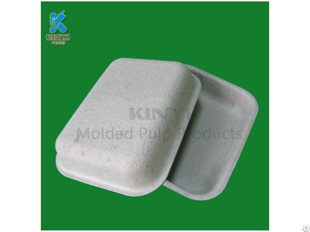 Disposable Molding Pulp Mushroom Packaging Trays