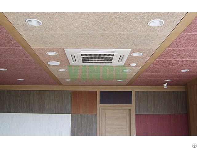 Acoustical Panels And Minerial Wools Acoustic Panel Type Wood Wool Insulation Board