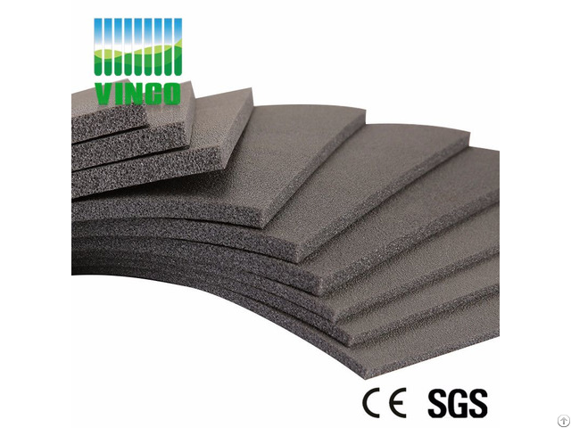 Shock Damping Floor Mat Pvcs Sound Insulation Felt Pvc Flooring Mats For Gym