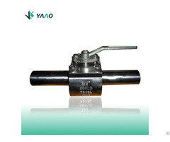 Foeged Steel Top Entry Ball Valves