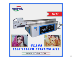 Wide Format Ceramic Background Wall Uv Printer For