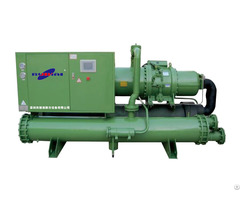 Low Temperature Screw Type Cascade Chiller