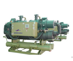 216kw Industrial Water Cooled Screw Chiller