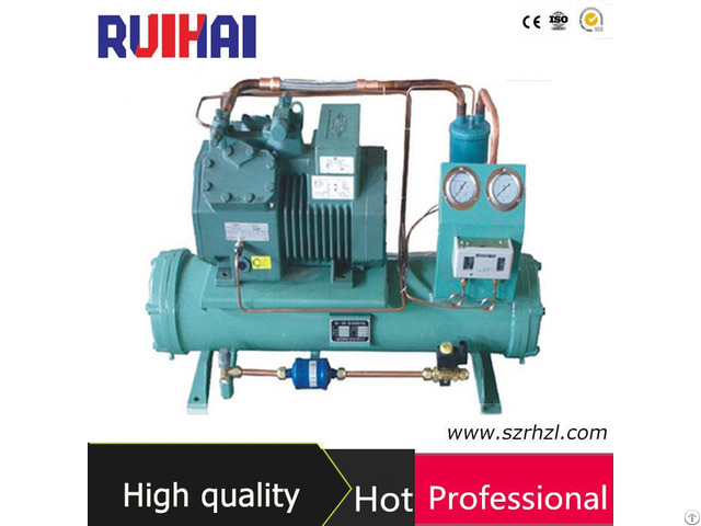 Water Cooled Bizter Compressor Condensing Unit
