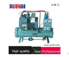 Water Cooled Bizter Compressor Condensing Unit