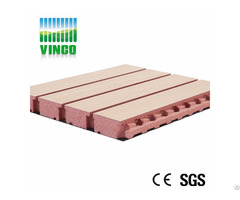 18mm Wooden Acoustic Panel Type Grooved Mdf Wall Panels