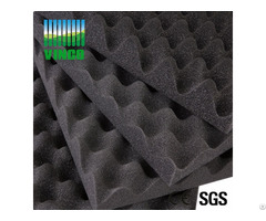 Wavy Flexible Installation Authentic Sound Foam Church Egg Crate Acoustic Foams For Sale