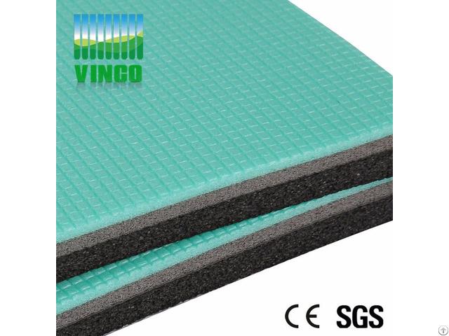 Soundproofing Shock Absorber Crossfit Floor Mats Shenzhen Manufacture