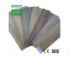China Supplier Sound Insulation Floor Wood Pvc Flooring Look Rubber Floorings
