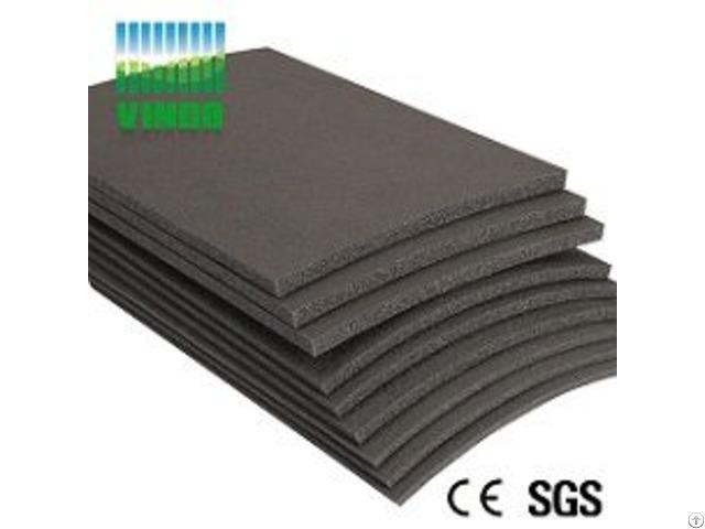 China Supplier Sound Barriers Type Shock Absorber Soundproof Floor Mat For Ktv