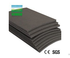 China Supplier Sound Barriers Type Shock Absorber Soundproof Floor Mat For Ktv