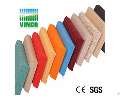 Decorative Pattern Wall Board Acoustical Panels Type Fabric Soundproofing Material Acoustic Panel