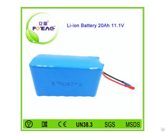 Factory Price 3s7p 18650 Lithium Ion Battery Pack 12v 20ah