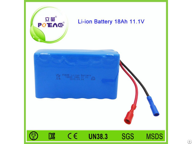Most Popular Golf Cart Rechargeable Lithium Ion Battery 12v 18ah