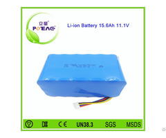 Deep Cycle 18650 3s Lithium Ion Battery Pack 12v 15ah