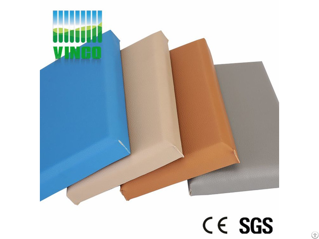 Multi Function Insulated Faux Leather Walls Panels Interior Ceiling Wall Panel