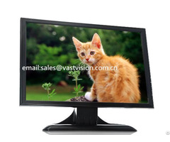 Inch 19 Wide Screen Cctv Lcd Monitors With 2 Bnc Input Output