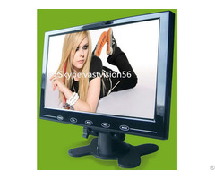 "9"" Car Pc Lcd Monitor With 2 Av Input Vga Hdmi Optional"