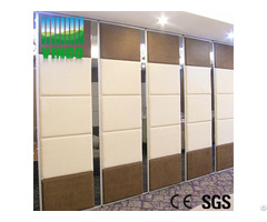 Office Furniture Wooden Movable Partitions Walls On Wheels Space Saving