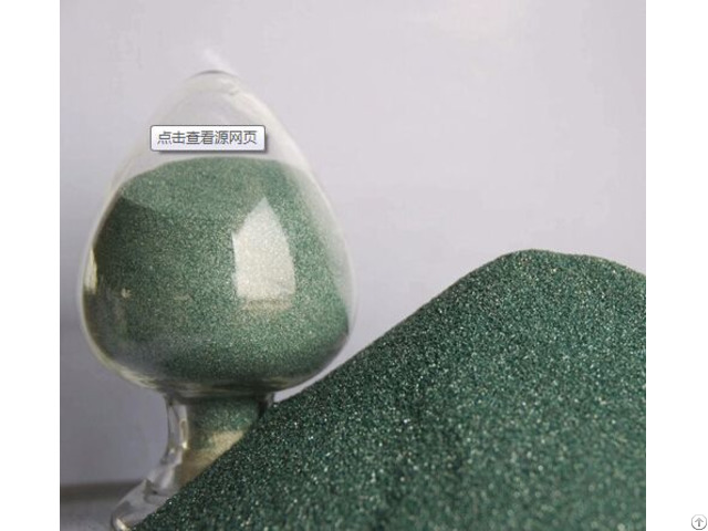 Green Silicon Carbide For Bonded Abrasives F16 F220