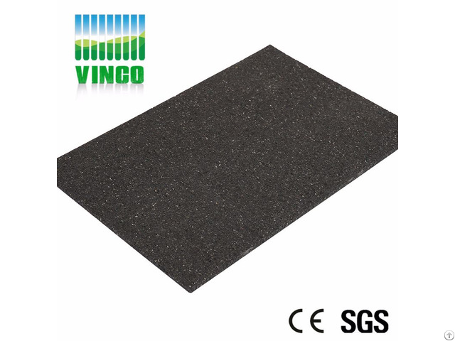 Building Materials Black Heat Insulation Rubber Soundproofing Shock Damping Floor Mats