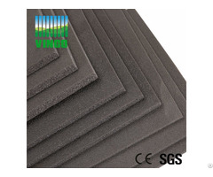 5mm Shocks Absorbing Soundproof Mats Shock Damping Floor Mat For Home Cinema