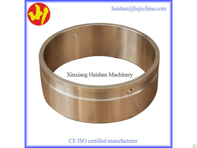Fine Finish Bronze Excavator Pin Bushing Pc200 Pc300 Pc400