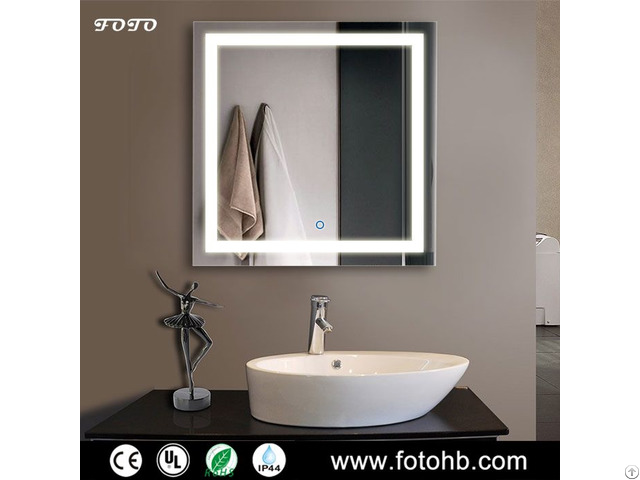 Led Backlit Mirror With Ce Ul Ip44