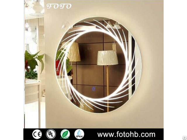 Hotel Lighted Mirror For Bathroom