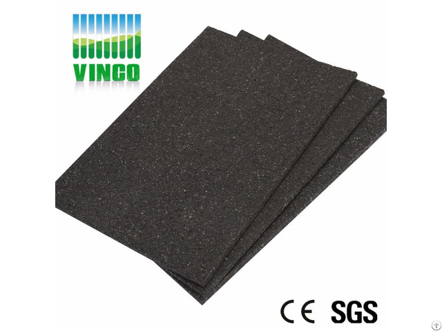 10mm Rubber Shock Damping Floor Mats School Running Track For Gym
