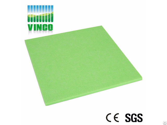 Modern Designed Soundproofing Polyester Fiber Decorative Panels For House Theater