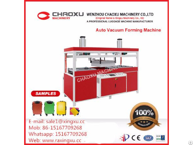 Luggage Case Vacuum Forming Machine From China