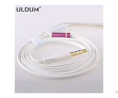 Earphone Cable With Mic Can Customized Tpe Materials 11 1050801105 M
