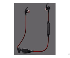 Sweatproof New Model Bluetooth Noise Cancelling Photo Taking Earphones With Mic