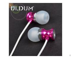 Uldum Good Sound Hourglass Shape Oem Brand Earphone