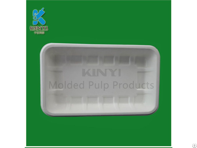 Wholesale Pulp Molded Green Pepper Packaging Trays