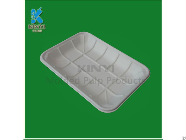 Custom Recycled Molded Pulp Bean Tray Packaging