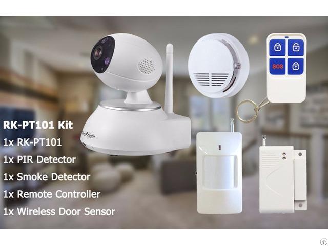 Reyknight 720p Pan Tilt Wifi Robot Ip Camera Kit
