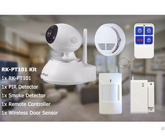 Reyknight 720p Pan Tilt Wifi Robot Ip Camera Kit