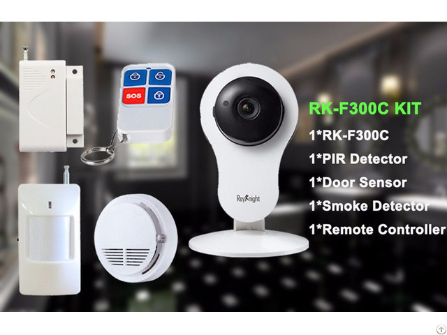 720p Wifi Home Use Smart Camera Kit