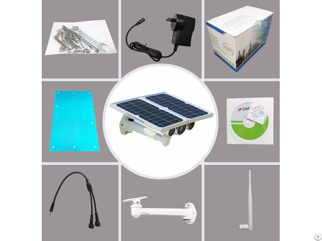 Solar Power Ap Onvif P2p Wifi Outdoor Ip Camera