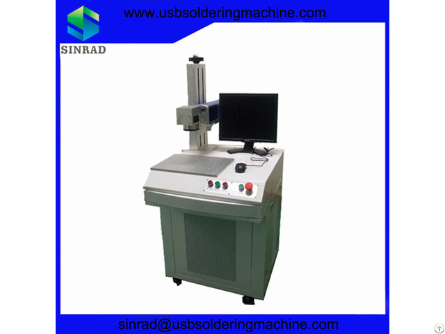 20w Fiber Laser Marking Machine For Print Logo