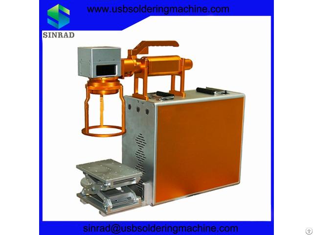 Print On Metal Portable Fiber Laser Marking Machine
