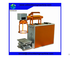 Print On Metal Portable Fiber Laser Marking Machine