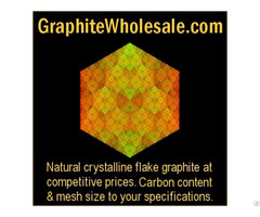 Natural Crystalline Flake Graphite At Wholesale